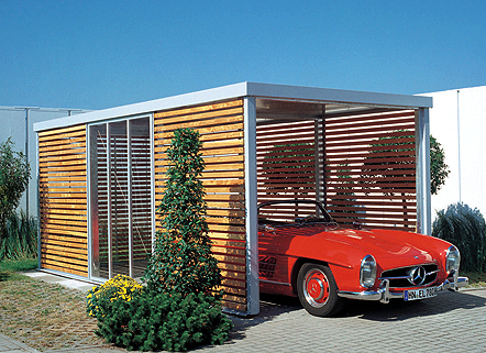 Architektur for Geschlossener carport